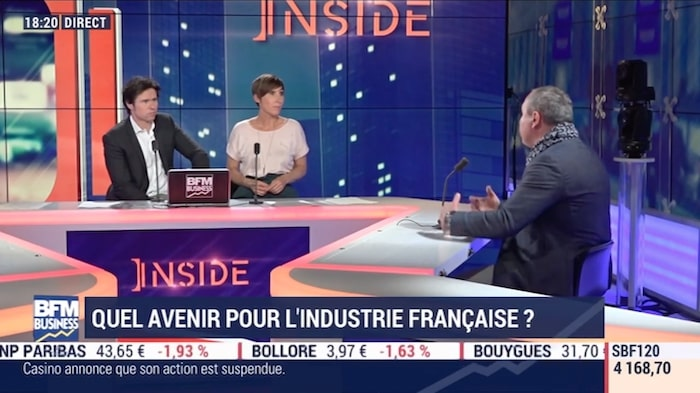 BFM TV – Quel avenir pour l'industrie Française