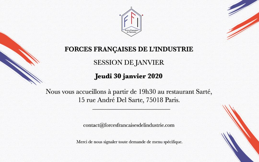 Prochaine soirée des FFI – 30 Janvier 2020